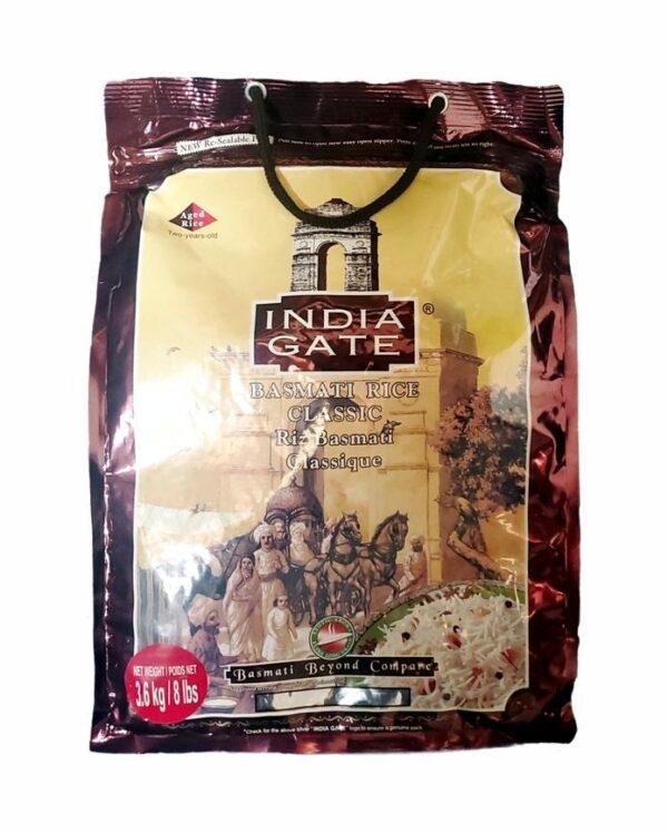India Gate Classic 8lbs X 4
